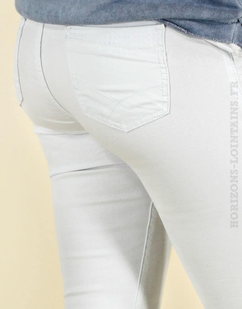 65e4475c5ec9c Jean blanc basique Onado - BOSTON - Horizons Lointains