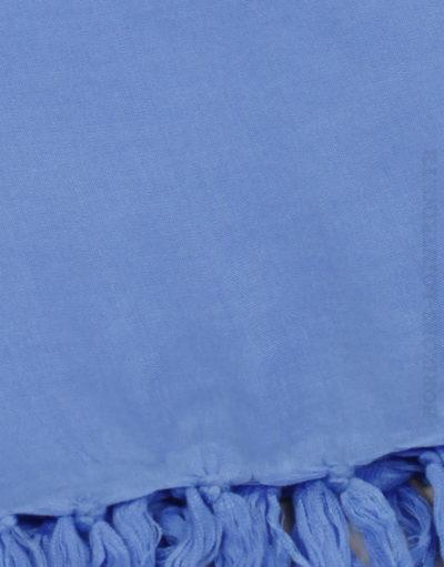Paréo de plage grande taille, couleur bleu