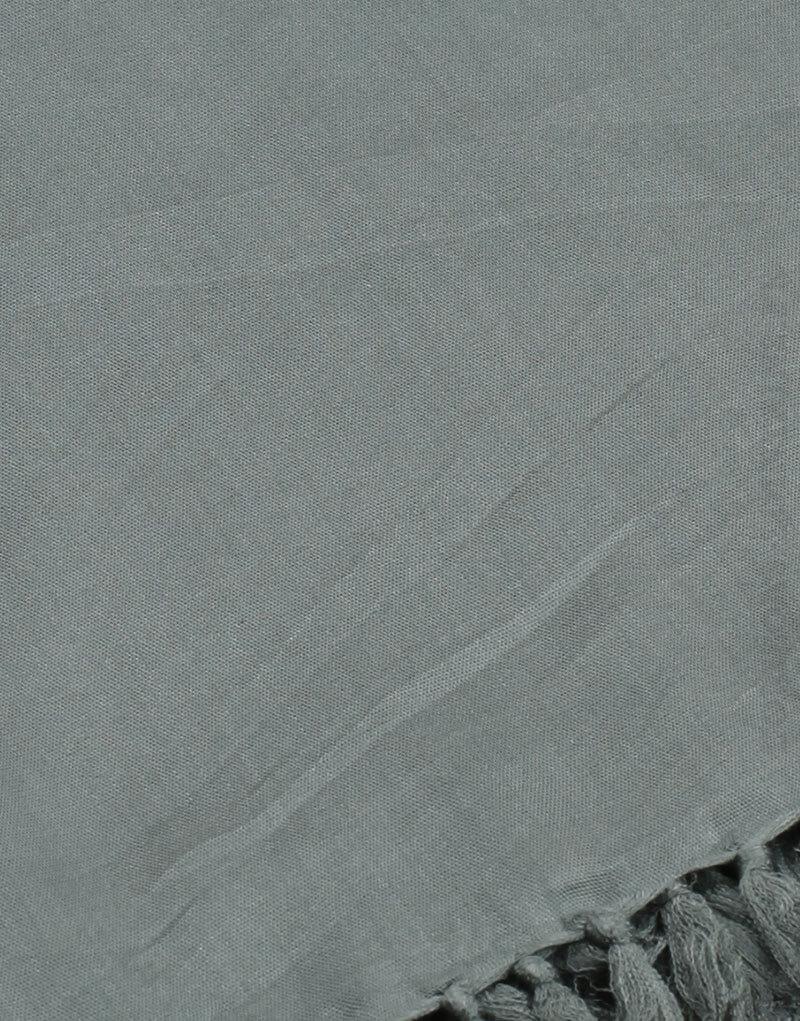 Paréo de plage grande taille, couleur gris
