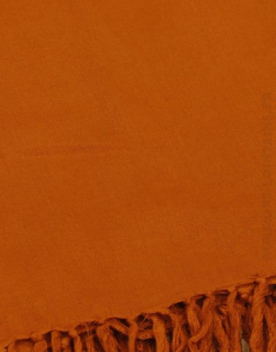 Paréo de plage grande taille, couleur rouge brique