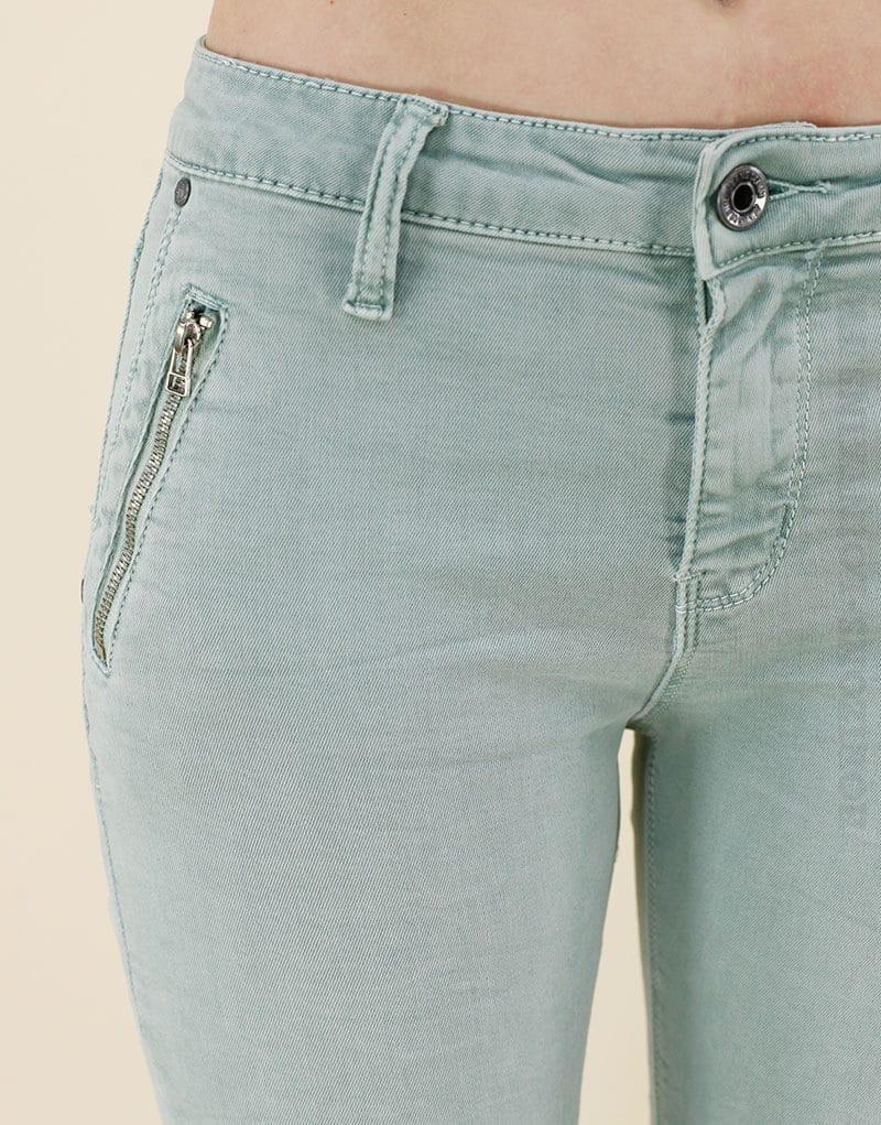 Jean vert d eau poches zip - Horizons Lointains 5cb67209d47a