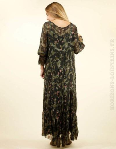 robe longue camo, fond de robe amovible 2