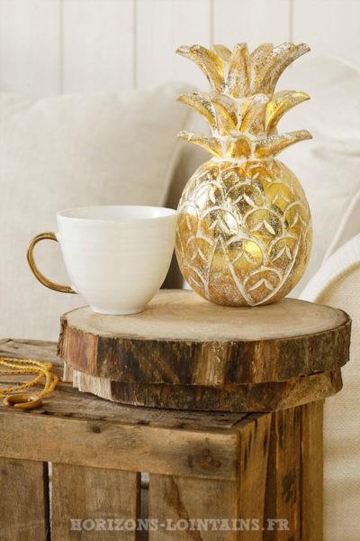 ananas moyen doré cérusé brillant