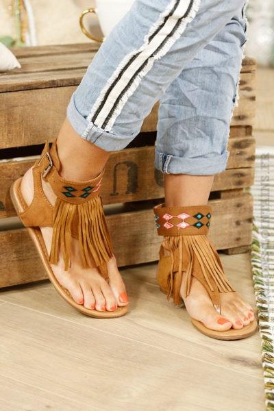 Sandales-camel-franges,-broderies-ethniques-B16-2