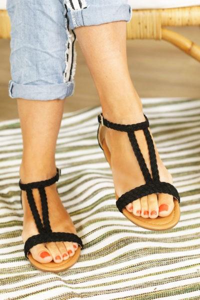 Sandales-noires-tressées-chaussures-été-B014---1