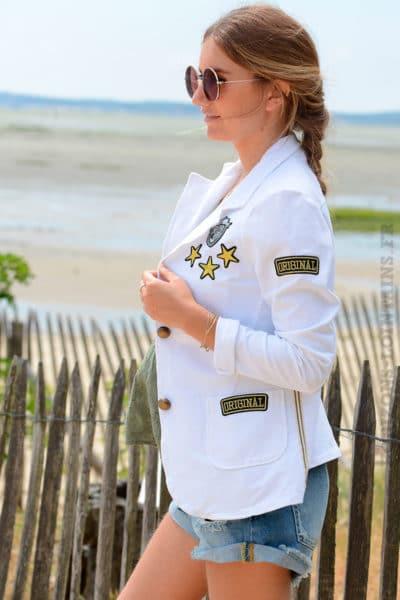 Blazer-blanc-détails-brodés-et-bandes-tissus-sur-chaque-coté-B09-2
