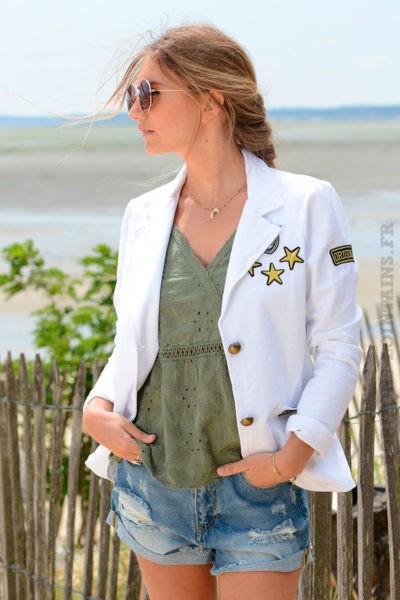 Blazer-blanc-détails-brodés-et-bandes-tissus-sur-chaque-coté-B09-5