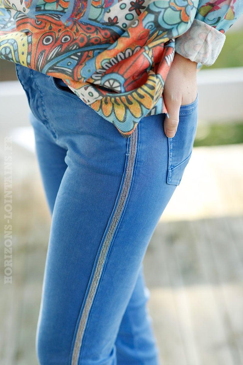 Jean-bleu-roi,-bandes-perlées-b07-confort-stretch-7