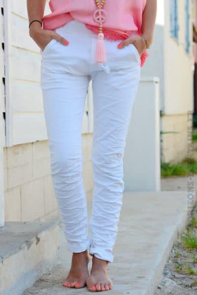 Jean-stretch-ceinture-blanc-B34