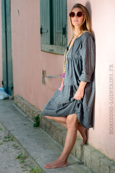 Robe-broderie-anglaise,-gris-anthracite-b09