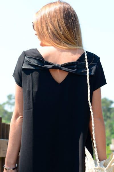Robe-noire,-nœud-dos-It-Hippie-B06