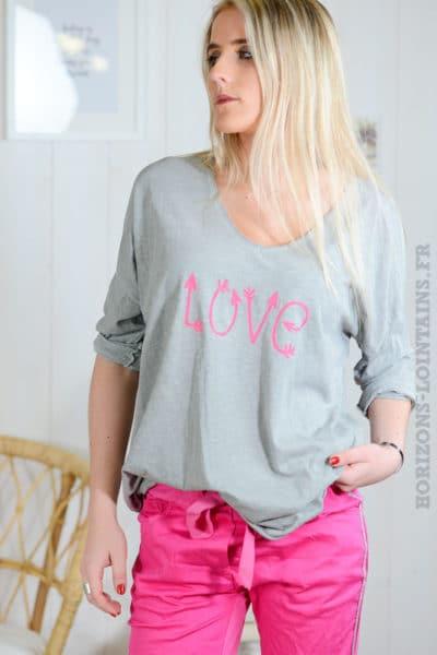 T-S-gris-clair,-love-manches-longues-B56