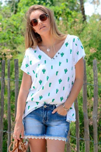 T-shirt-blanc-cactus--B118