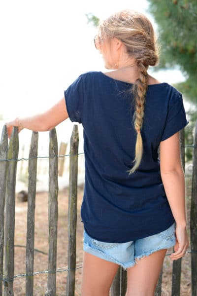 T-shirt-bleu-marine-message-raleuse-chiante-mais-adorable-B151-2