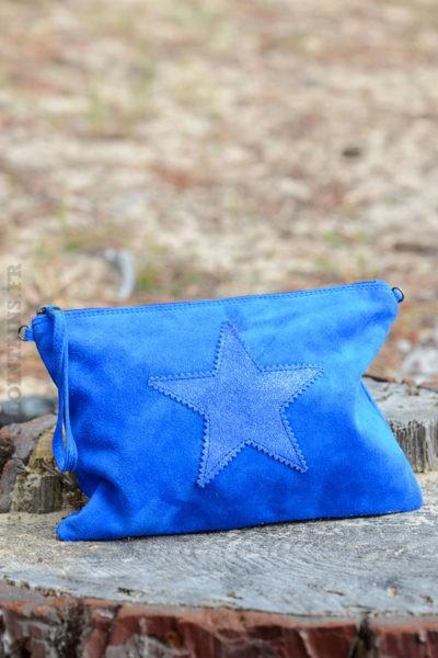 Grande-pochette-étoile-en-croûte-de-cuir-bleu-royal-b06