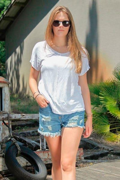 T-shirt-blanc-en-lin-avec-coutures-exterieurs-b154-1
