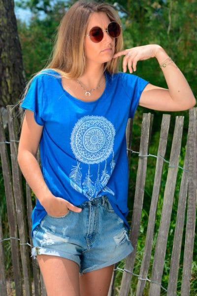 Tshirt-bleu-roi-dreamcatcher-b145-2