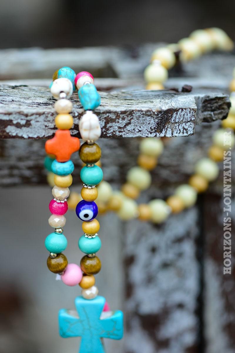 col-094-perles-colores-perles-croix-pompon-rose-fluo---