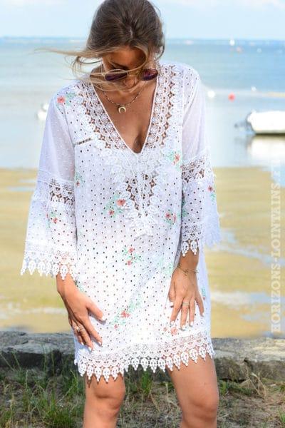 top-b138-Tunique-robe-blanche-en-broderie-anglaise-avec-fleurs-2