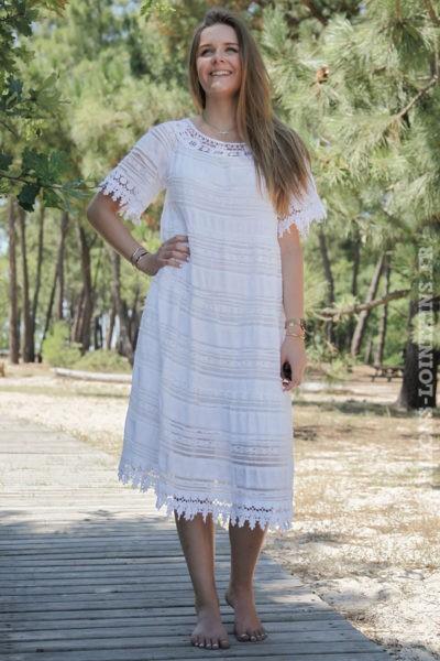 Robe-blanche-mi-longue-dentelle-doublée-1-B050