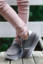 Baskets-running-grises-et-argent-plateforme-b25-3