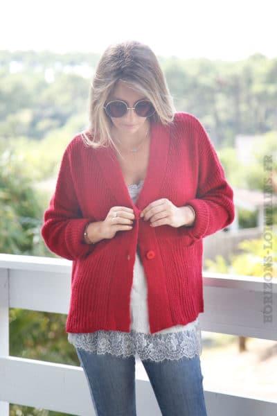 Gilet-rouge-mailles-avec-poches--b12