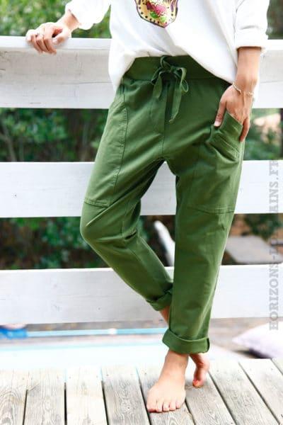 Pantalon-de-jogging-vert-urbain-à-poches-04-2