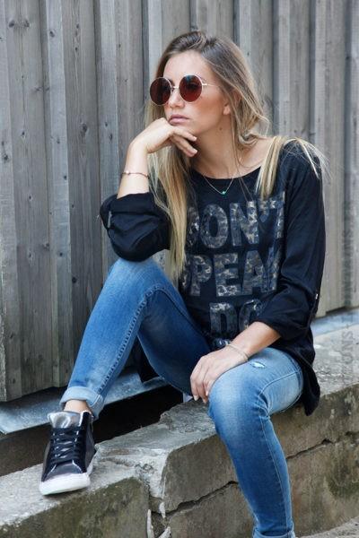 T-shirt-noir-bi-matière-satiné-devant-message-b187-6