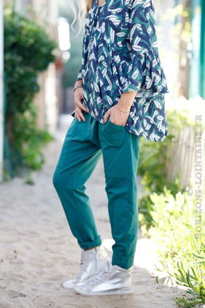Pantalon-de-jogging-vert-foncé-urbain-à-poches-04
