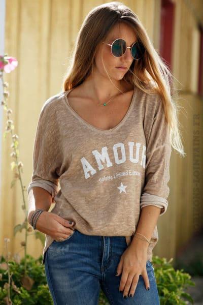 Top-loose-camel-amour-b205-4