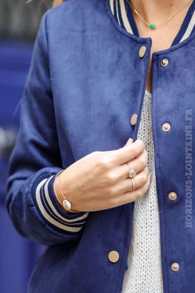 bracelet-jonc-femme-coquillage-petites-perles-dorées