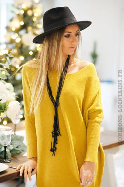 Robe-pull-moutarde-coupe-loose-b81-5