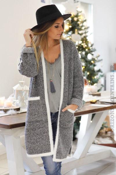 Veste-longue-toute-douce-gris-chiné-et-blanc-b47-15