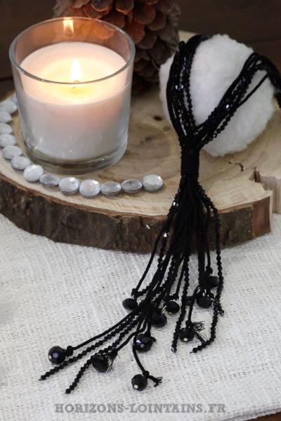 collier-noir-perles-facettes-brillantes-noires