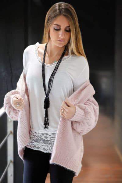 sous-pull-blanc-manches-longues-vêtements-femme-hiver