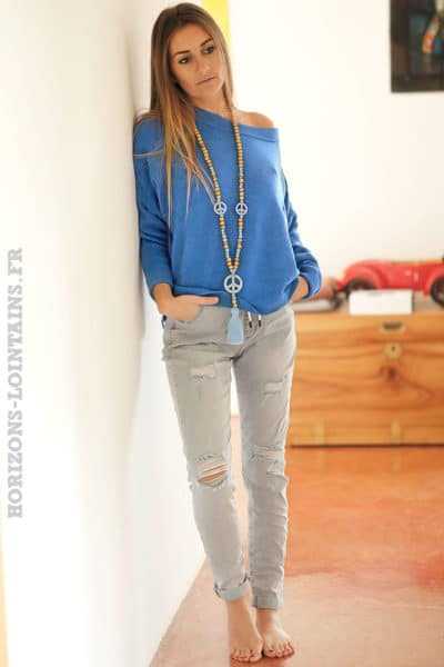 Pull-bleu-roi-col-rond-coupe-loose-C16
