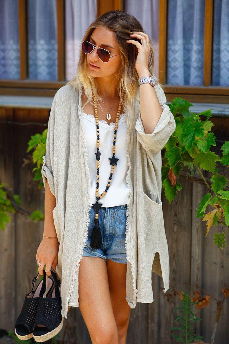 collier-sautoir-perles-bois-etoile-noir