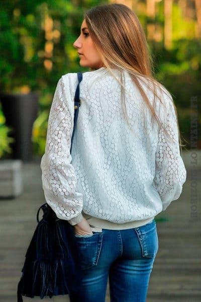 Bomber-écru-dentelle-veste-écrue-femme-vêtement-moderne-tendance-C004