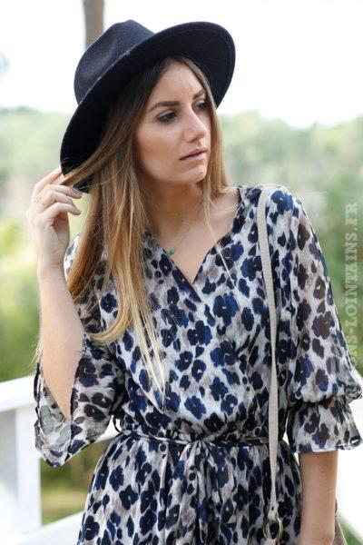 Robe-longue-imprimé-léopard-marron-et-bleu-marine-c17-boheme-chic--6