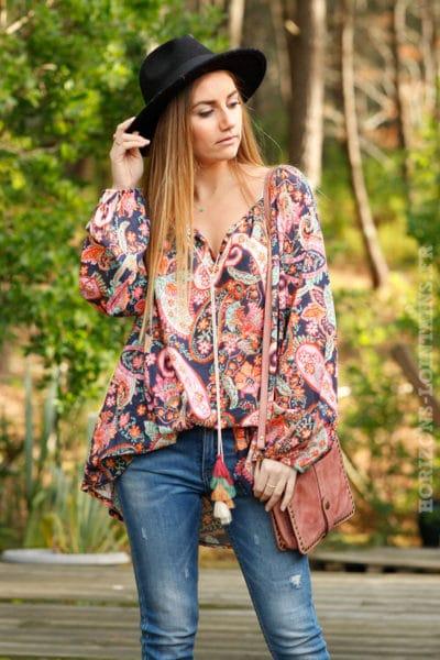 Tunique-imprimé-fleurs-et-cachemire-nuances-de-rose-et-orange--c23-boheme-gipsy-grande-taille-coton-6
