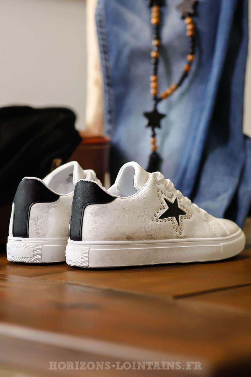chaussure etoile au talon