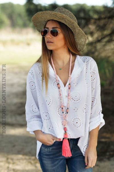 Blouse-blanche-broderie-anglaise-top-blanc-femme-look-hippie-bohème