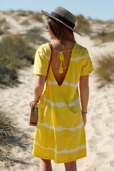 Robe-courte-jaune-tie-and-dye--c41