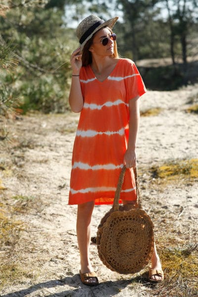 Robe-courte-orange-tie-and-dye--c41