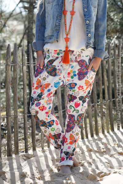 Pantalon-confort-blanc-imprimé-printemps-coloré-c14-4