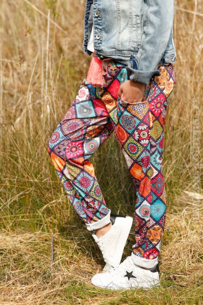 Pantalon-confort-imprimé-graphique-coloré-c13