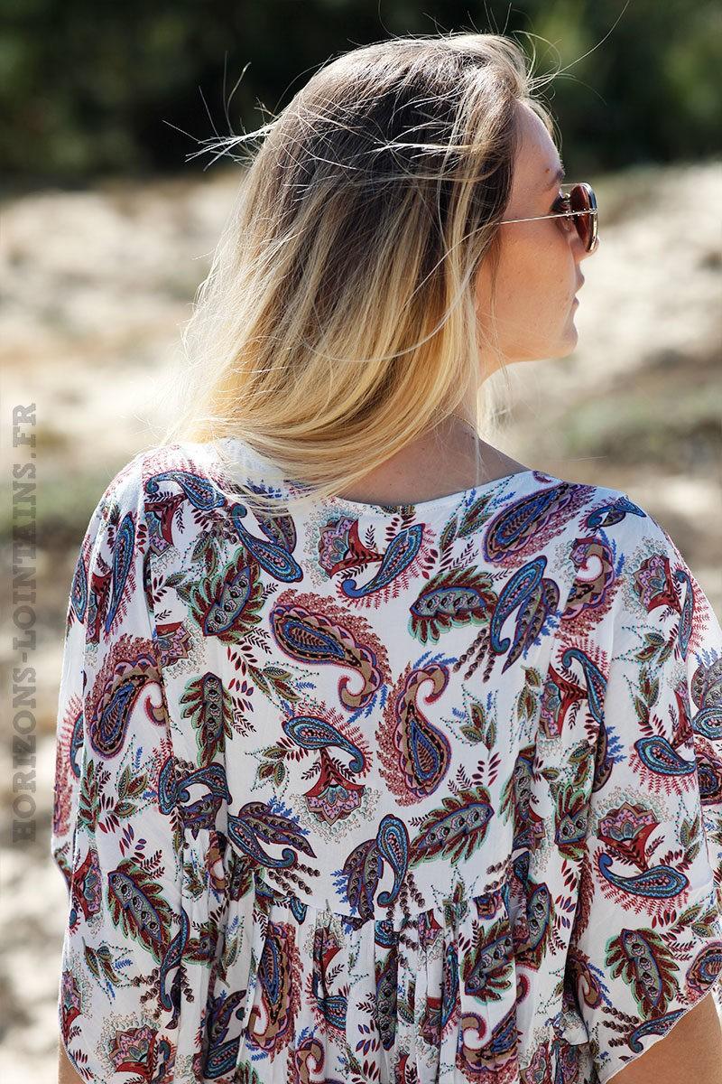 Robe-longue-imprimé-cachemire-bleu-et-rose-c55