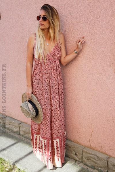 Robe-longue-imprimé-fleurs-rouges-bretelles-fines-c57-5
