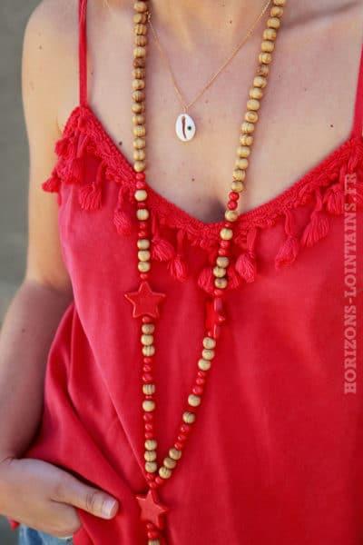 Caraco-rouge-col-avec-pompons-c-114-4