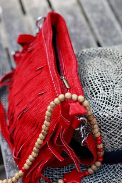 sac-cuir-velours-à-franges-rouge-B12